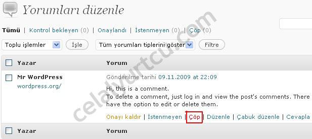 wordpress-2.9-yorumlar1