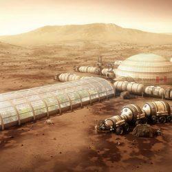 Mars Cam Kubbe Koloni