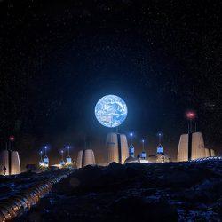 Ay'da İnşa Edilecek Evler