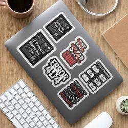 Laptop Stickeri