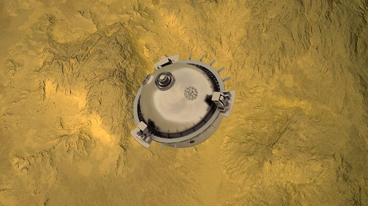 NASA Venüs DAVINCI+ VERITAS
