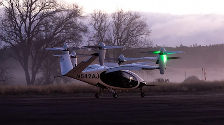Joby Aviation NASA Uçan Taksi
